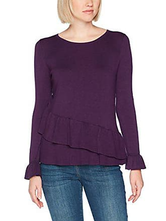 purple Ruffle 42 119 Layer Wallis Femme Violet Pull wXxnF1Hq1a