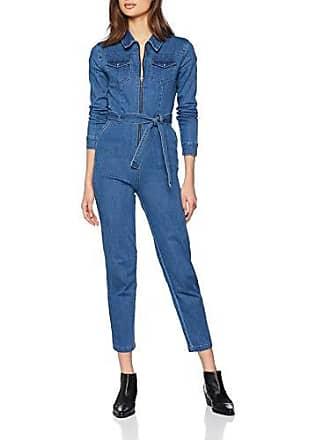Azul Through New blue Pattern 49 Para Mujer Zip Mono Look aqqw6xYC