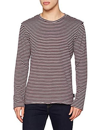 Mehrfarbig And Sisley 911 Sweater Ls Strips Homme bordeaux Pull Grey wI1BIqZ