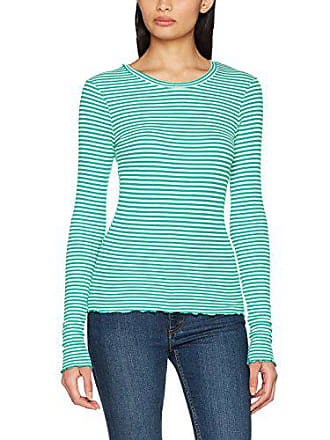 Moda Striped Ls pepper Top taille Vmbecca Vero Green Femme À small Pristine Longues 34 T Fabricant with X Jrs Vert shirt Manches Stripes pIqdw
