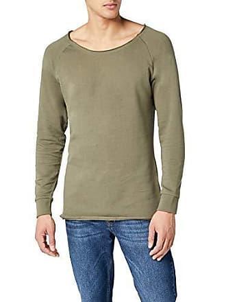 Edge Urban Long Sweat Homme Vert Grün Crewneck Terry Shirt Open Classics fqWWw14tp