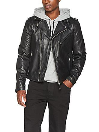 Schott FabricantL Longues Homme Nyc NoirblackLargetaille Col Châle Cuir Manches Lc1140Veste En H92bWeDIEY