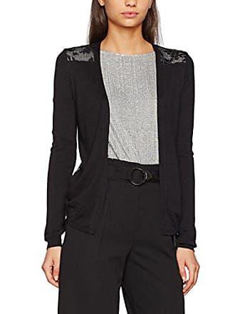 Look 40 Femme noir Lace Back New Cardigan zdFwvqHWvx