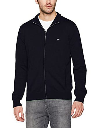 Giletscardigans Zip Hatton Fynch Bleu navy Medium Homme SAFfqwP