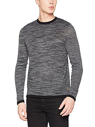 Jcomaize Small Jones Pull Homme Fit Fit Grey knit Crew Neck Melange Jack Knit Gris dark amp; TSqwFnxE4f