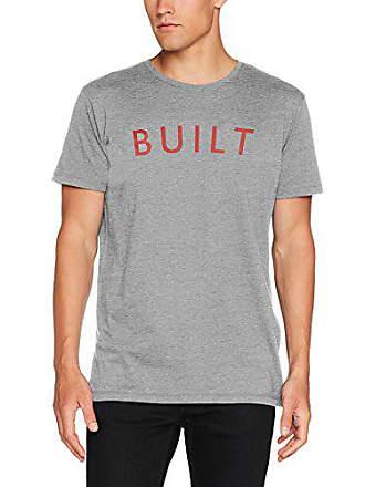 Small Springfield Built tamaño greys Para Del Camiseta 4ca s Fabricante Gris Hombre Zrw0Zq