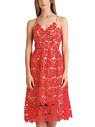 nude Apart Fashion Para amp; Rot mehrfarbig Lace Vestido reef 44 Coral Fashion Mujer 6SxPUq6Z