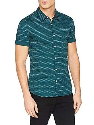 Verde New 5999685 Polka Green 38 Fabricante Del Para Camisa Medium 52 Hombre Muscle Dot dark Look talla rEqIr8