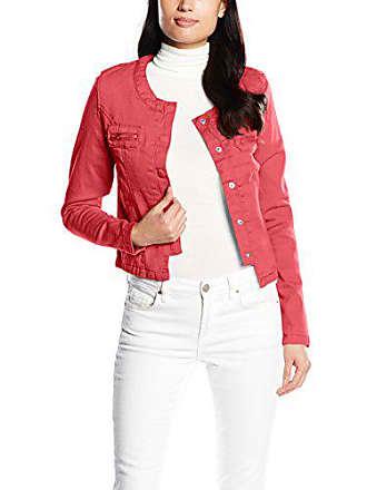 Color L Rojo Jacket With Tantra Chaqueta Short Zipper Mujer Talla Para wU0qxRv64x