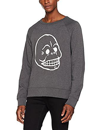 Sweat Shirt Monday Melange Grey Skull Dark Rules Homme Xl 202 Gris Cheap aREqwpw