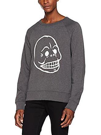 Gris Grey Sweat Melange Skull Cheap 202 Homme Monday Shirt Xl Dark Rules UH7CnaZqw