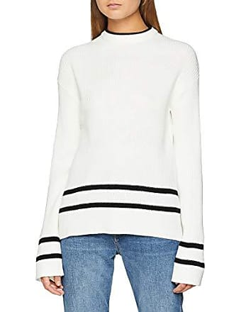 Mujer Stripes 36 Ls Pcfelicity Blanco Fabricante Dancer cloud Suéter Black Knit Pieces Bf Para small X talla Del qYvxw7n1