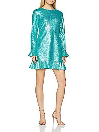 Fabricante Fiesta Del Bs Verde Mujer Dress Ladies Sequin aqua Para talla Medium 40 Glamorous Vestido Party vX6ng