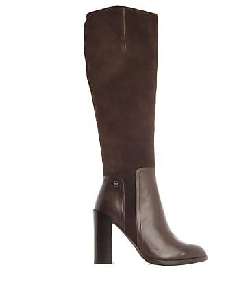 Jb Chaussures Cuir Honneur Martin Bottes Marron Femme rFwnrH6q