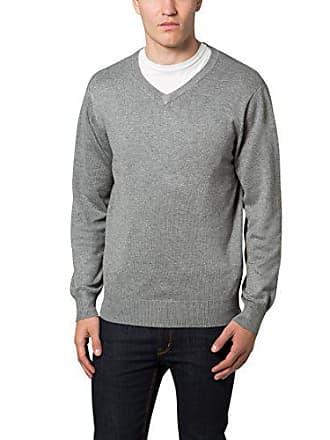 Maglione Lower East Medio con del degli grigio melange gr chiaro in V diversi uomini grigio colori scollo a SrwqS0