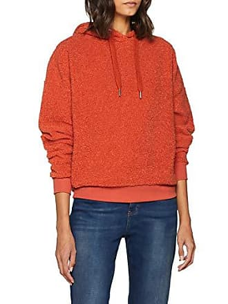 À Camel Shirt Capuche Look New Borg Femme Sweat Orange burnt IXTqnR