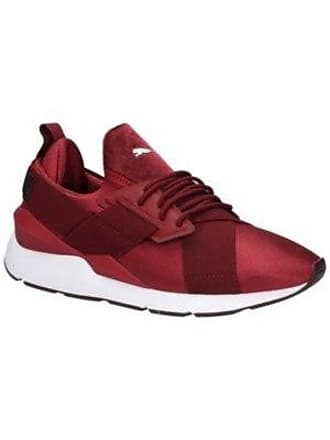 Sneakers Satin White Ii Women Puma Pomegranate Muse qtAaczPH