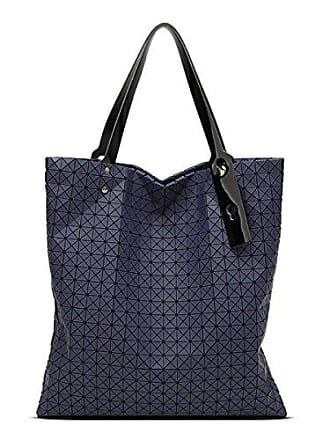 Geometrie Koreanische Version Tasche blue Silikon Ling onesize Dreieck Trendy 21 X Chengxiaoxuan Handtasche Falten Umhängetasche Dame xtsChQdr