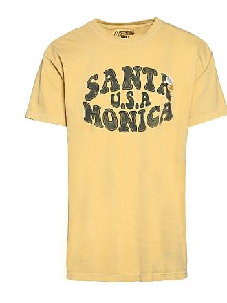 Tee Newtone Coton Monica Moutarde shirt Santa 5LARq34j