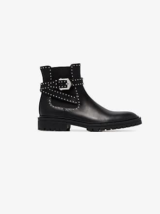 Boots Ankle Studded Leather Elegant Givenchy qUIaA1