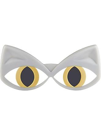 Gris Cat C3 3 Linda Yazbukey eye Farrow Sunglasses xqApRwSg