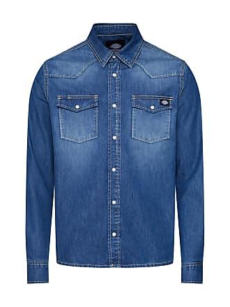 Denim »willard« Blau Normalgrößen Langarmhemd Dickies xZg8qFw