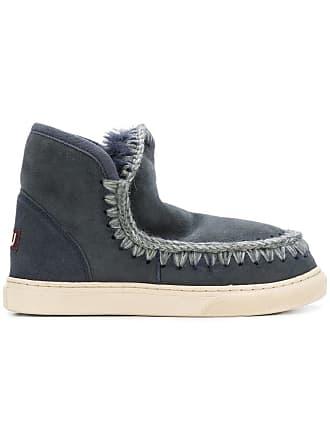 Boots Bleu Sheepskin Mou Mou Boots Sheepskin Bleu Mou Sheepskin fdqwF5fxZ