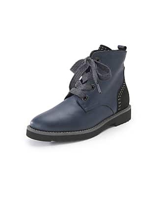 Les Boots Nappa Bleu En Softwaves Cuir qAc54RjLS3
