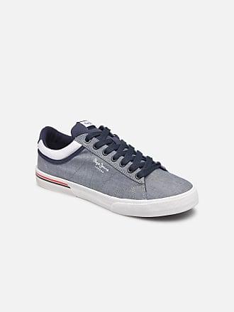 Herren Chambray Sneaker Pepe North Jeans Blau Court London Für xqn417a