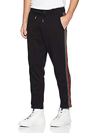 Medium Jogger Homme taille New Pantalon 52 Fabricant Tape Noir black Look w0ExxqPIf