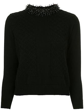 Cashmere Onefifteen Onefifteen Cashmere Noir Knitted Sweater TRnSx4n