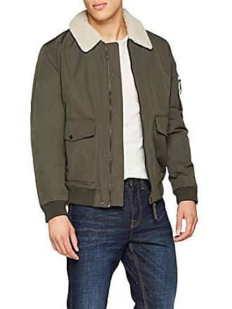 Khaki Casual New Manteau dark Vert Aviator X Homme Look gSqpg0Rz