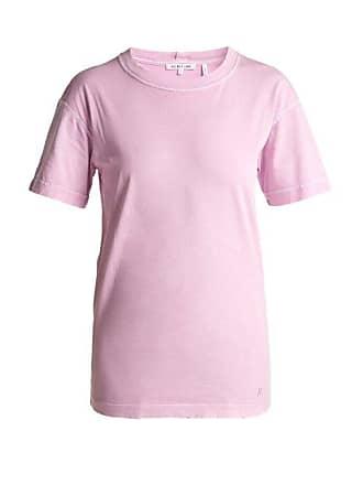 Helmut T Lang En De Jersey shirt Vieilli Coton Effet 8w0kOnP