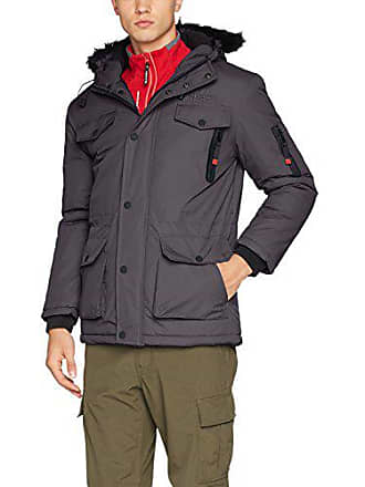 Geographical Norway dgrey Hombre Chaqueta Para Coquin X Bomber Gris 66fqFrzWwp