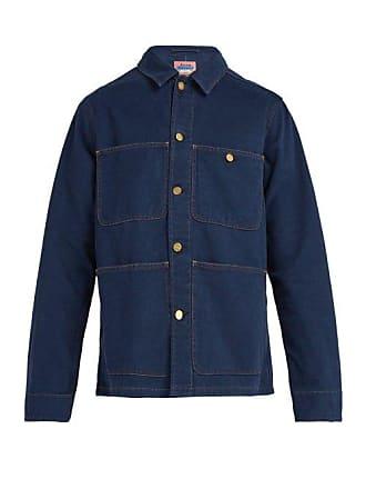 Blue Cotton JacketMens Studios Albyr Workwear Acne A34jLq5R