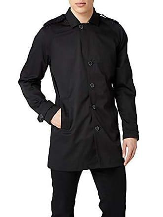 amp; Abrigo Para Noos Negro Hombre Trenchcoat Jack Premium Jprdavid Black Jones By 0fCwOE