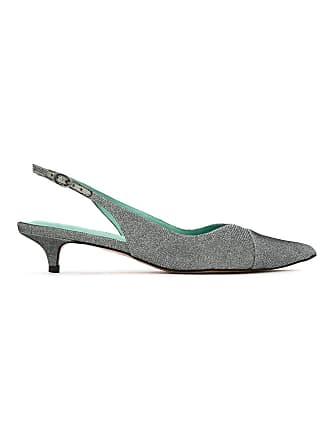 Bird Disco Blue Slingback Shoes PumpsGris Lurex m0nOw8vN