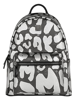 Mcm Leopard Backpack Schwarz Stark Print Rucksack Black vwOyNn08mP