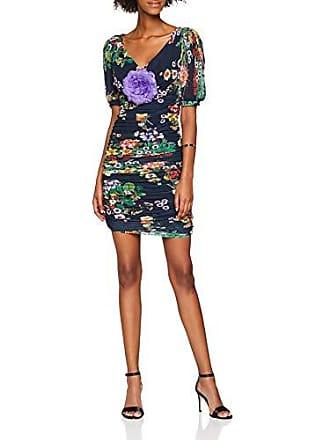 bush Bouquet Dress Co Medium Blue Pe77 Guess Abito Para Mujer Alison Vestido 0WY1gw
