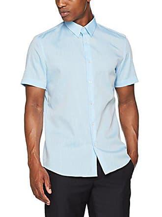 oliver 51w2 41 30706223122 Oficina S oasis Label Azul Black Hombre Camisa De Melange Para 1Apwqd