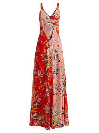 Silk Orange Print Diane Fürstenberg Maxi Von Poppy Avalon Multi DressWomens sdCtBhQrx