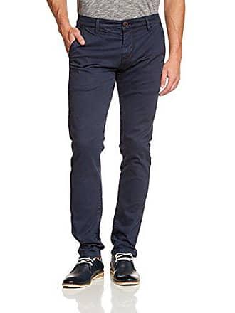 B Solid W32 Pantalones Para 32 Stretch Pants Blau insignia Hombre l34 joe 1991 rFqv486ZyF