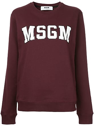 Sweatshirt Mit LogoRot Sweatshirt Mit Sweatshirt Msgm LogoRot Msgm Msgm IgvmbyY67f