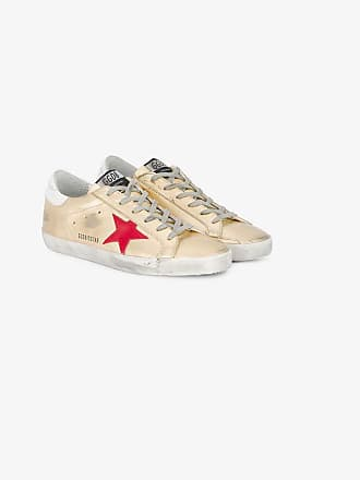 Superstar Golden Leather Goose Gold Sneakers fTTq6gx