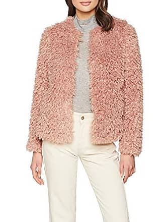 70 6042872 Femme light Faux Curly Pink Manteau New Look Rose Fur ISUqwOv