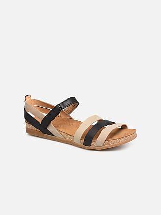 Zumaia El N5244 Dames Zwart Sandalen voor Naturalista 5qqCrwH4