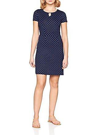 talla Fabricante 34 Navy Vestido Azul Printed Easy 6593 Tailor Tom Del 36 Para real Mujer Dress Blue 1wfpwO