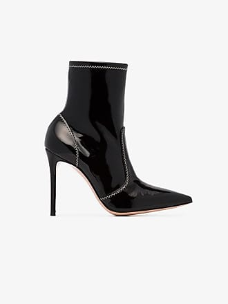 105 Leather Patent Rossi Gianvito Black Boots Craze BSAtTqw