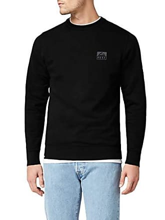 Sweat X à Reef Bla Sta black Capuche Classic Noir large Homme Crew shirt nqwRwTxf