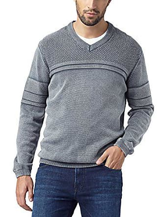Gris gray Medium Jersey V Smoke Para Hombre 154 Authentic Pioneer Jeans Neck Pullover WqSfCp4